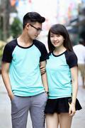 Thun couple RL xanh lo den