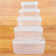Bộ 5 hộp nhựa bầu 2288