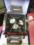 Đồng hồ nam inox guci mặt vuông độc đáo sang trọng DHDI60