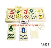Con số & đồ dùng của bé [VM56]