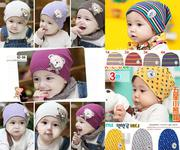 Mũ cotton cho bé từ 3-36 tháng có nhiều mẫu