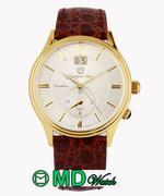 Đồng hồ nam dây thép không gỉ OLYMPIA STAR OPA580501-03MSK (Bạc)