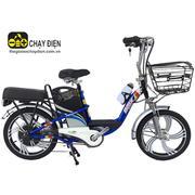 Xe đạp điện Bmx khung sơn vành 18 (Xanh Dương)