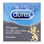 Bao cao su Kingtex Durex hộp 3 cái