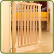 Chặn cửa cho bé (xuất khẩu) (màu gỗ)