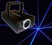 Đèn laser PAH quét tia motor Blue 300mw