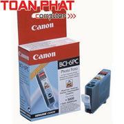 Mực in Phun màu Canon BCI - 6PC (Photo Cyan) - Màu xanh nhạt - Dùng cho Canon iP-3000, 4000, 5000, 6...