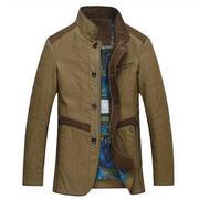 Áo khoác nam phối màu thời trang Nleidun