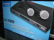 Microphone Shure U-720, Micrphone chuyên dùng cho hát karaoke,microphone biểu diễn,microphone ch...