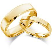 Nhẫn cưới vàng tây NCT005