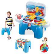 Bộ đồ chơi bác sĩ cao cấp có tay xách màu xanh 008-91A