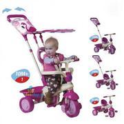 Xe ba bánh cho bé Smart Trike Flamingo 113546