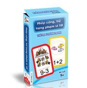Thẻ học thông minh - Phép cộng, trừ trong phạm vi 10 (Độ tuổi 5+)