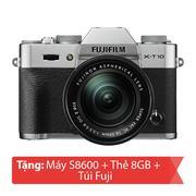 Máy ảnh Mirrorless Fujifilm X-T10 Kit 16-50mm (Bạc)