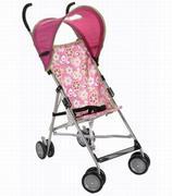 Xe đẩy dù Cosco có mái che màu hồng (bé gái)