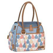 Túi đựng đồ cho mẹ và bé Babymoov Style - hoa xanh - BM01653