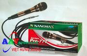 Micro Nanomax Pro-777   Microphone chính hãng hát karaoke hay nhất