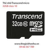 Thẻ nhớ Transcend  Micro SDHC 32GB (Class 10)