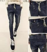 quần jeans nam đầu lâu