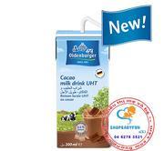 Sữa tươi Oldenburger của Đức vị socola 200ml -lốc 4 hộp
