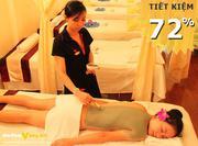 thanh tẩy cơ thể bằng tinh dầu muối Aroma - Woman tại Khang Mỹ Spa