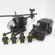 Bộ Đồ Chơi Ghép Hình Oxford Military Series OM3307