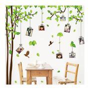 Bộ khung ảnh treo tường cây xanh BinBin KA009 (Xanh lá cây)