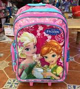 Balo Kéo Disney Frozen Summer Tiểu Học Hồng