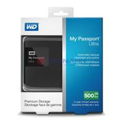 Ổ cứng WD My Passport Ultra 500GB - Black