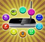 Mini PC Q7 Android TV Box Quad Core RAM 2G