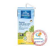 Sữa  tươi Oldenburger của Đức vị chuối 200ml -lốc 4 hộp