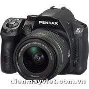 Máy ảnh Pentax K-30 Digital Camera with DA 18-55mm f/3.5-5.6 AL WR Zoom Lens (Black)     Mfr# 15601