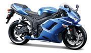 Đồ chơi xe mô hình mô tô Maisto tỉ lệ 1:12 - Kawasaki Ninja ZX-6R