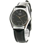 Đồng hồ nữ dây da Casio LTP - 1094E - 1ARDF (Đen)