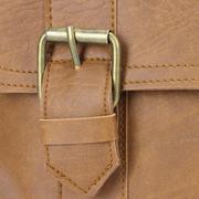 Túi xách Huy Hoàng 2 viền dọc màu bò nhạt - HH6109