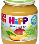 Dinh dưỡng đóng lọ chuối táo Hipp 4+