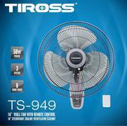 Quạt treo tường có điều khiển Tiross TS-949