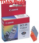 Mực in Phun màu Canon BCI - 24 (Color) - Mực màu - Dùng cho PIXMA iP-1000, 1500, 2000, i-320, 250, 2...