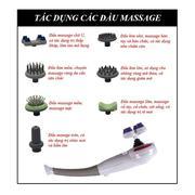 Máy Massage Cầm Tay 7 Đầu Buheung MK - 208