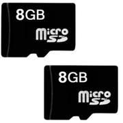 Bộ 2 thẻ nhớ Micro SD 8GB (Đen)