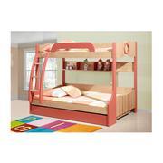 Bộ giường ngủ kèm giá sách, BH, tủ đồ 603#