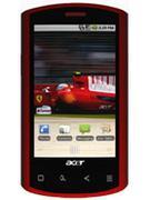Điện thoại Acer LiQuid E Smart S100 Ferrari