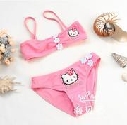 Áo bơi Hello Kitty hồng cho bé 2- 5 Tuổi