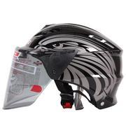 Mũ bảo hiểm chất lượng cao LS2-OF100, chống chói, chống đọng nước, sương mù tiêu chuẩn Mỹ, châu Âu