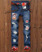 quần jeans nam vá rách