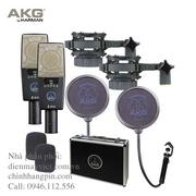Microphone  AKG C 414 XLS/ST Large Diaphragm Condenser (Matched Pair) (3059Z00230)