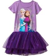 Disney-Girls-T-Shirt Tutu-Dress 7/8 và 10/12