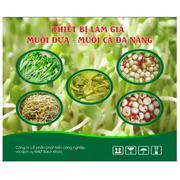 Thiết bị làm giá – muối dưa – muối cà đa năng (Xanh lá)