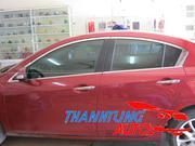 Nẹp inox viền kính cửa cho Mazda3,mazda3S(2010-2013)