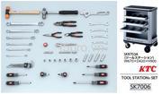 Bộ dụng cụ KTC SK7006